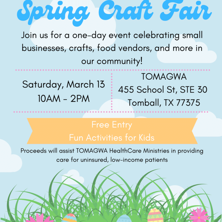 TOMAGWA Spring Craft Fair