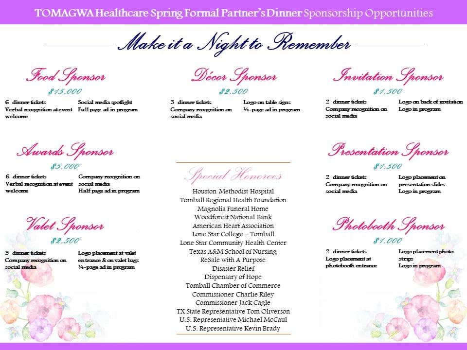 Spring Formal Sponsorship Slide